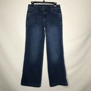 Calvin Klein Flare Blue Jeans Size 29